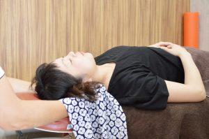 肩こりに対しての整体治療